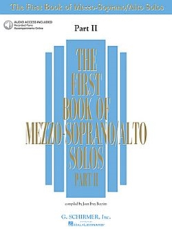 First Book of Mezzo-Soprano