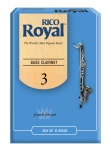 RIRYBCL3B Rico Royal Bass Clar 3 Box Reeds