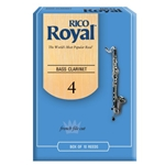 RIRYBCL4B Rico Royal Bass Clar 4 Box Reeds