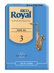 RIRYTS3B Rico Royal Tenor Sax 3 Box Reeds RKB1030