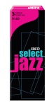 Rico RIJSTS3MF Jazz Select Tenor 3 Med Reeds Box