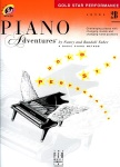 Piano Adventures Level 2B - Gold Star Performance with CD