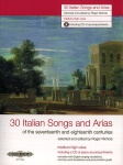 30 Italian Songs and Arias for Medium High w/CD