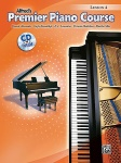Alfred's Premier Piano Course Lesson Book 4 w/CD
