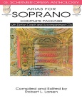 Arias for Soprano Complete Package with Diction Coach and Accompaniment CDs