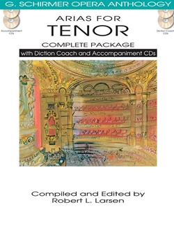 Arias for Tenor Complete Package w/CD's