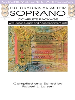 Coloratura Arias for Soprano - Complete Package with Diction Coach and Accompaniment CDs