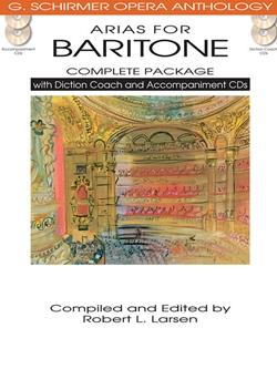 Arias for Baritone w/CDs