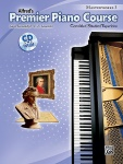 Alfred's Premier Piano Course Masterworks, Book 3 w/CD