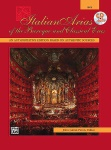 Italian Arias of the Baroque and Classical Eras Medium Voice Book/CD
