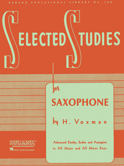 Voxman: Selected Studies For Saxophone
