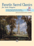 Favorite Sacred Classics for Solo Singers Book/CD (Medium Low)