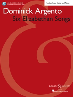 Six Elizabethan Songs for Medium/Low Voice and Piano