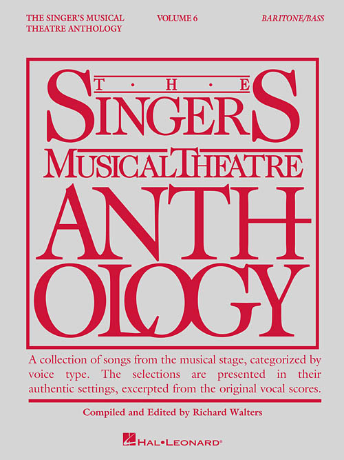 The Singer's Musical Theatre Anthology Volume 6 Baritone/Bass