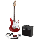 GIGMAKEREGRED Yamaha Gigmaker Electric Guitar; Metallic Red