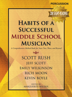 Habits of a Successful Middle School Musician - Percussion