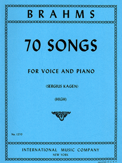 70 Songs High Voice & Piano