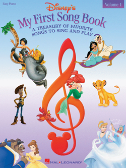 Disneys My First Songbook Book 1 Easy Piano