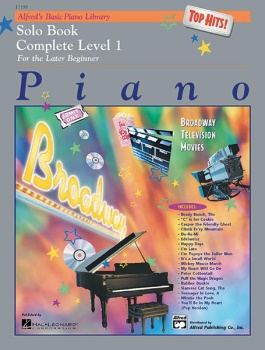 Alfred's Basic Piano Library Complete Top Hits Solo Book 1