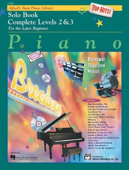Alfred's Basic Piano Library Complete Top Hits Solo Book 2&3
