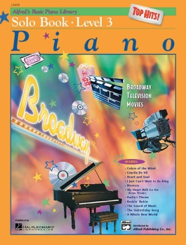 Alfred's Basic Piano Library Top Hits Solo Book 3