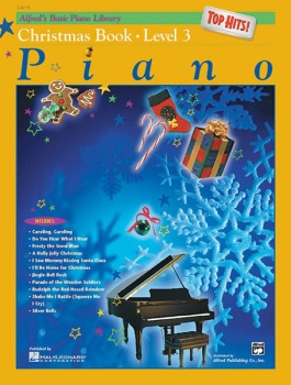 Alfred's Basic Piano Library Top Hits Christmas Level 3