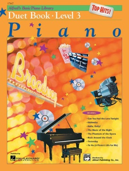 Alfred's Basic Piano Library Top Hits Duet Book 3 1P4H