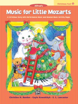 Music for Little Mozarts Christmas Fun Book1