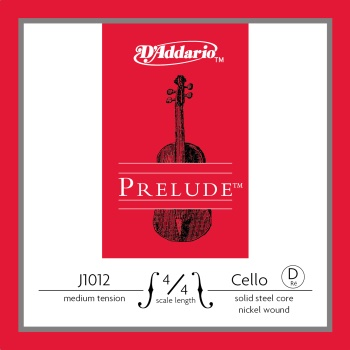 D'Addario J101244 Prelude 4/4 Cello D String J1012 4/4M