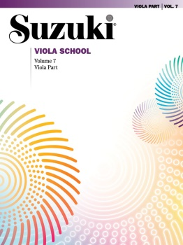 Suzuki Viola School, Volume 7 - Viola Part