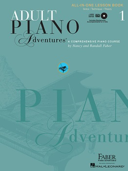 Adult Piano Adventures All-in-One Lesson Book 1 w/CD