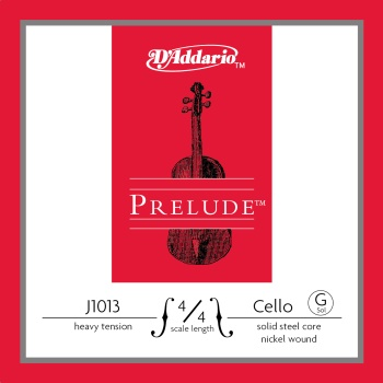 D'Addario J101344 Prelude 4/4 Cello G String J1013 4/4M