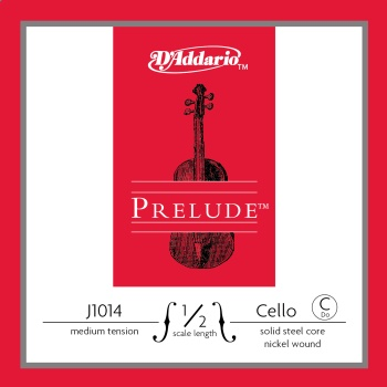 D'Addario J101412 Prelude 1/2 Cello C String