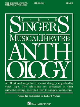 The Singer's Musical Theatre Anthology Tenor Volume 4