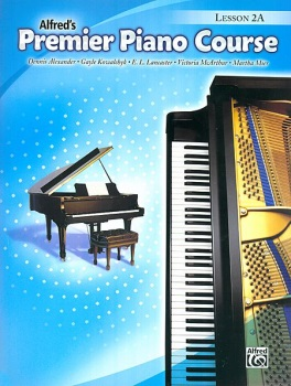 Alfred's Premier Piano Course - Lesson 2A w/CD