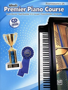 Alfred's Premier Piano Course - Performance 2A w/CD