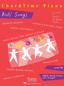 Piano Adventures ChordTime Kids' Songs Level 2B