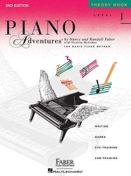 Piano Adventures Level 1 - Theory Book