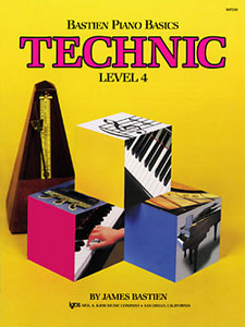 Bastien Piano Basics Level 4 Technic