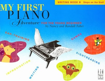 My First Piano Adventures, Writing Book B