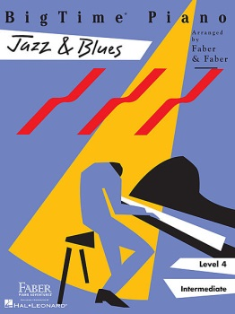 Piano Adventures Bigtime Jazz And Blues Level 4