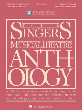 The Singer's Musical Theatre Anthology Baritone/Bass Volume 3 w/ 2 CDs