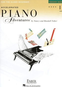 Accelerated Piano Adventures for the Older Beginner Theory Book 1