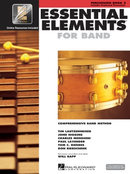 Essential Elements Percussion Bk.2