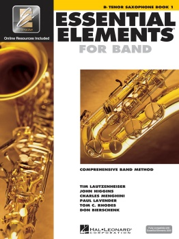 Essential Elements Tenor Sax Bk.1