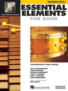Essential Elements Percussion Bk.1