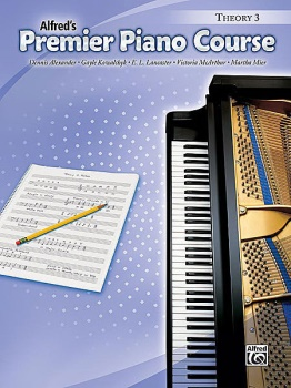 Alfred's Premier Piano Course Theory, Book 3