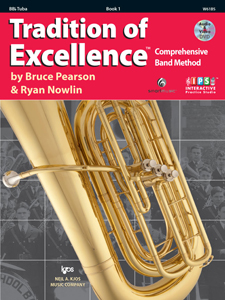 Tradition of Excellence Bk. 1 for Tuba