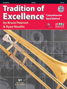 Tradition of Excellence Bk. 1 for Trombone