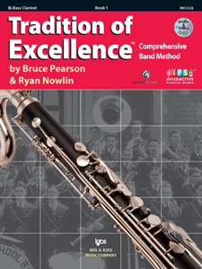 Tradition of Excellence Bk. 1 for Bass Clarinet
